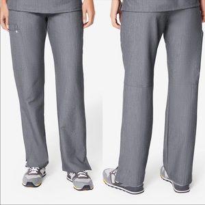 Figs kade cargo scrubs graphite gray XL